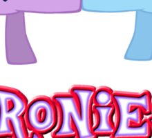 Bronies Forever (No Heart) 3 Sticker