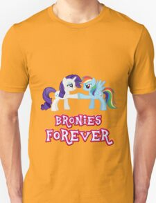 Bronies Forever (No Heart) 4 T-Shirt