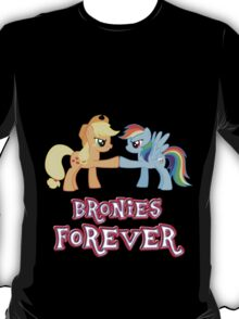 Bronies Forever (No Heart) 5 T-Shirt