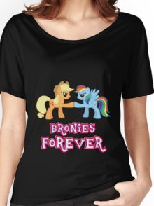 Bronies Forever (No Heart) 5 Women's Relaxed Fit T-Shirt