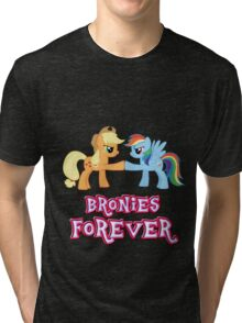 Bronies Forever (No Heart) 5 Tri-blend T-Shirt