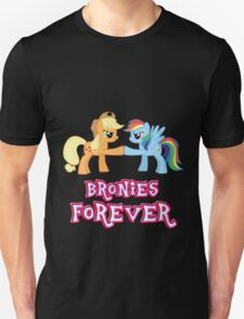 Bronies Forever (No Heart) 5 Unisex T-Shirt
