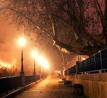 Night cityscape by carloscastilla