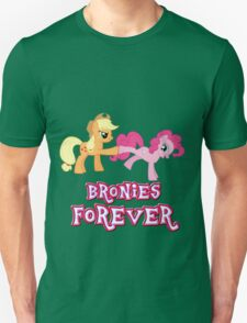 Bronies Forever (No Heart) 7 Unisex T-Shirt