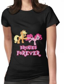 Bronies Forever (No Heart) 7 Womens Fitted T-Shirt