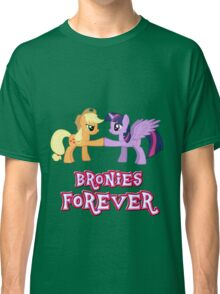 Bronies Forever (No Heart) 8 Classic T-Shirt