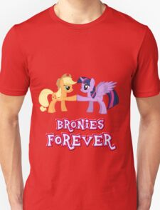 Bronies Forever (No Heart) 8 Unisex T-Shirt