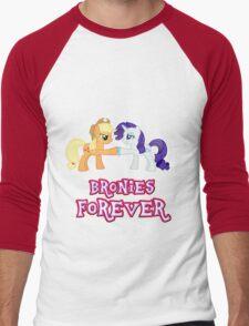 Bronies Forever (No Heart) 9 Men's Baseball ¾ T-Shirt