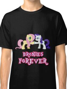 Bronies Forever (No Heart) 10 Classic T-Shirt