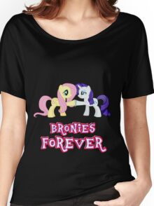 Bronies Forever (No Heart) 10 Women's Relaxed Fit T-Shirt