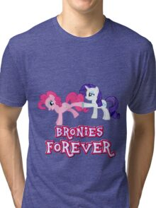 Bronies Forever (No Heart) 11 Tri-blend T-Shirt