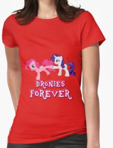 Bronies Forever (No Heart) 11 Womens Fitted T-Shirt