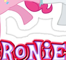 Bronies Forever (No Heart) 11 Sticker