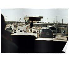 Taxi ride in Miami Poster