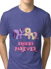 Bronies Forever (No Heart) 13 Tri-blend T-Shirt