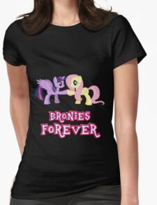 Bronies Forever (No Heart) 13 Womens Fitted T-Shirt