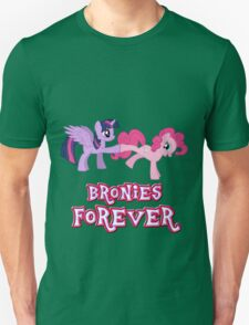 Bronies Forever (No Heart) 14 Unisex T-Shirt