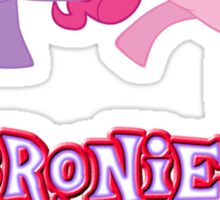 Bronies Forever (No Heart) 14 Sticker