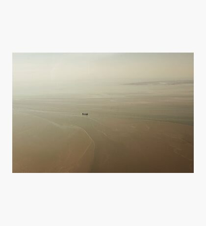 Flying above the UK Photographic Print