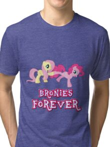 Bronies Forever (No Heart) 15 Tri-blend T-Shirt
