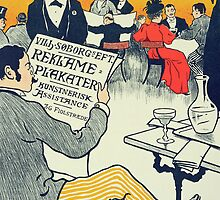 Reproduction of a poster advertising Wilhelm Soborg by Bridgeman Art Library