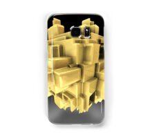 Gold abstract Samsung Galaxy Case/Skin