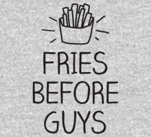 fries before guys- hand lettered by moonshine and lollipops