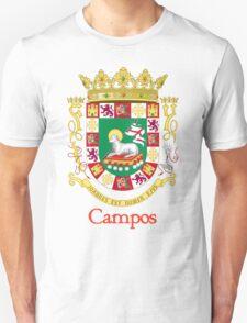 Campos Shield of Puerto Rico T-Shirt