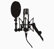 Microphone on Stand T-Shirt