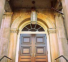 Wooden Door by Valentino Visentini