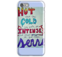 Olaf frozen in summer quote iPhone 5/5s case iPhone Case/Skin