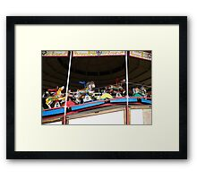 Over The Jumps II Framed Print