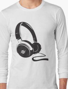 Headphone art Long Sleeve T-Shirt