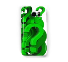 many question mark Samsung Galaxy Case/Skin
