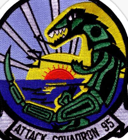VA-95 Green Lizards Sticker