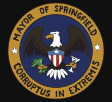 Mayor Quimby's Seal - The Simpsons by Kelmo