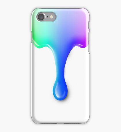 Colored liquid iPhone Case/Skin