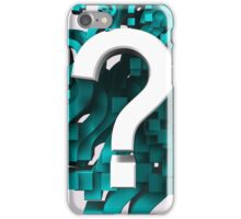 Many question iPhone Case/Skin