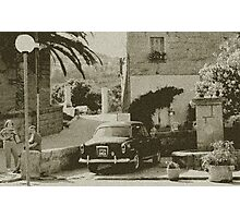 Oldies in Corsica Photographic Print