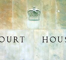 Court House Sign by Valentino Visentini