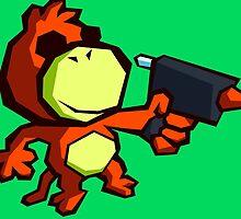 Monkey Fruckus by RebelTaxi