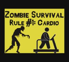 Zombie Survival Rule 1 by msashleynicolee
