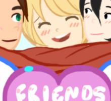 Shiganshina Trio Sticker