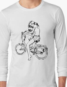 Fixie Girl Long Sleeve T-Shirt