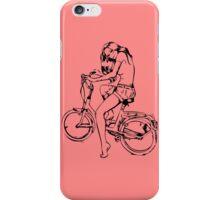 Fixie Girl iPhone Case/Skin