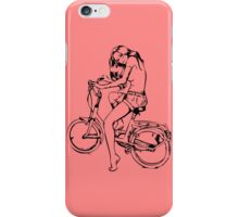 Fixie Girl iPhone Case/Skin