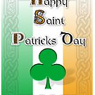 St Patricks Day Card  by Paul Woods