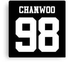 iKON Chanwoo 98 Canvas Print