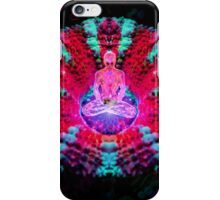 Mushroom Meditation iPhone Case/Skin