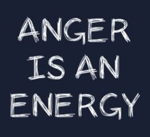 Anger Is An Energy by Andrew Alcock